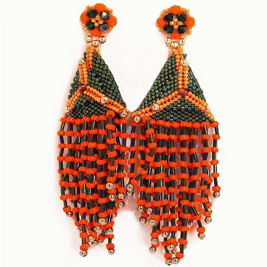 pendientes de mujer, complementos, moda de mujer, artesania
