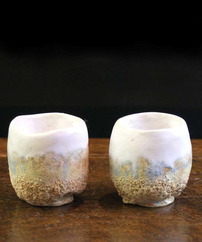 tazas y vasos artesanales, decoracion funcional, decoracion para la casa