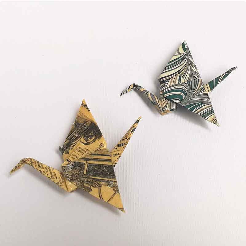 origami, decoracion en papel, decoracion para el hogar