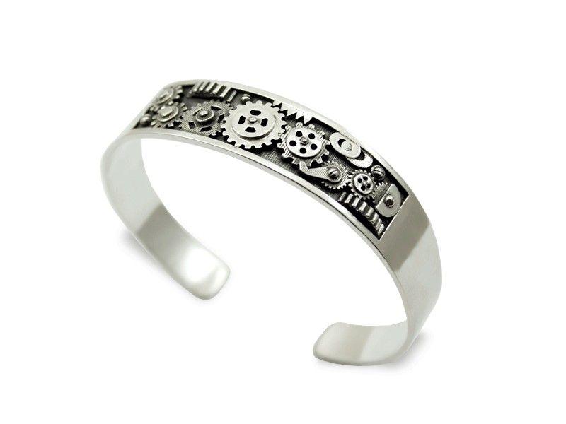 joyas, pulseras, plata, oro, hombre, mujer