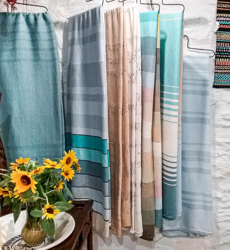 artesania, telar, lana, algodon, lino, bufandas, cuellos, mantas