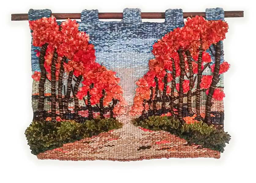 tapices, artesania, telar, lana, algodon, lino