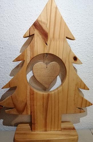 arbol de navidad de madera, decoracion navideña, decoracon casa, hogar