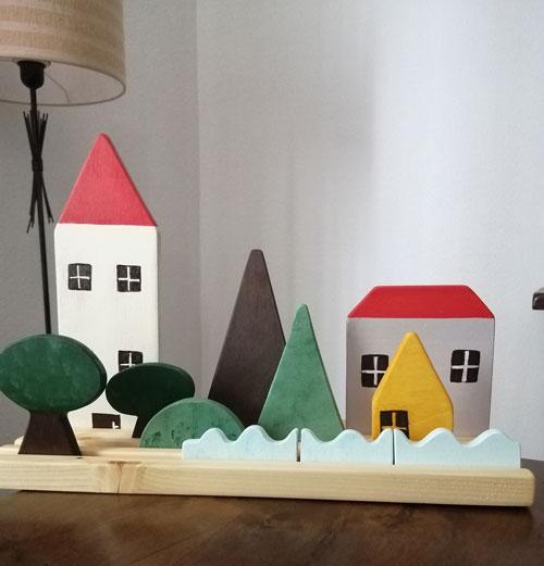 casas, juguetes para niños
