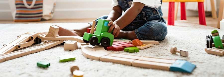 artesanía y psicomotricidad, juguetes artesanales